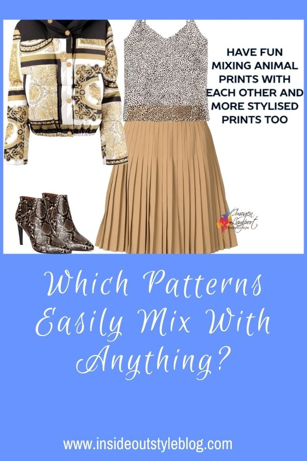 Which Patterns Easily Mix With Anything?