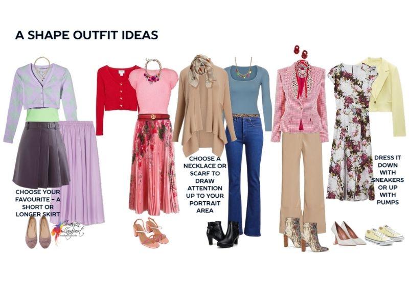 A shape outfit ideas
