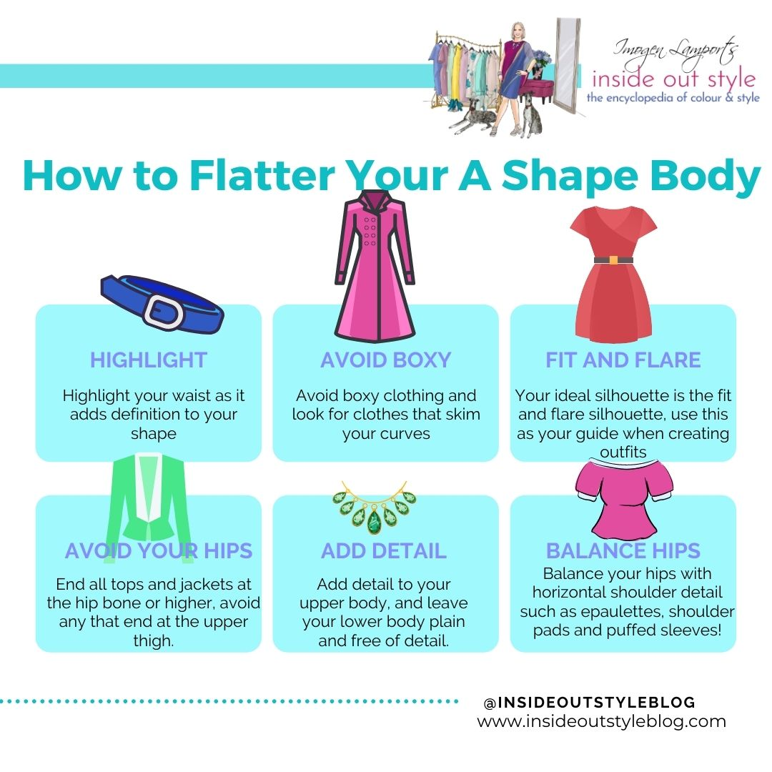 How to flatter your A shape body