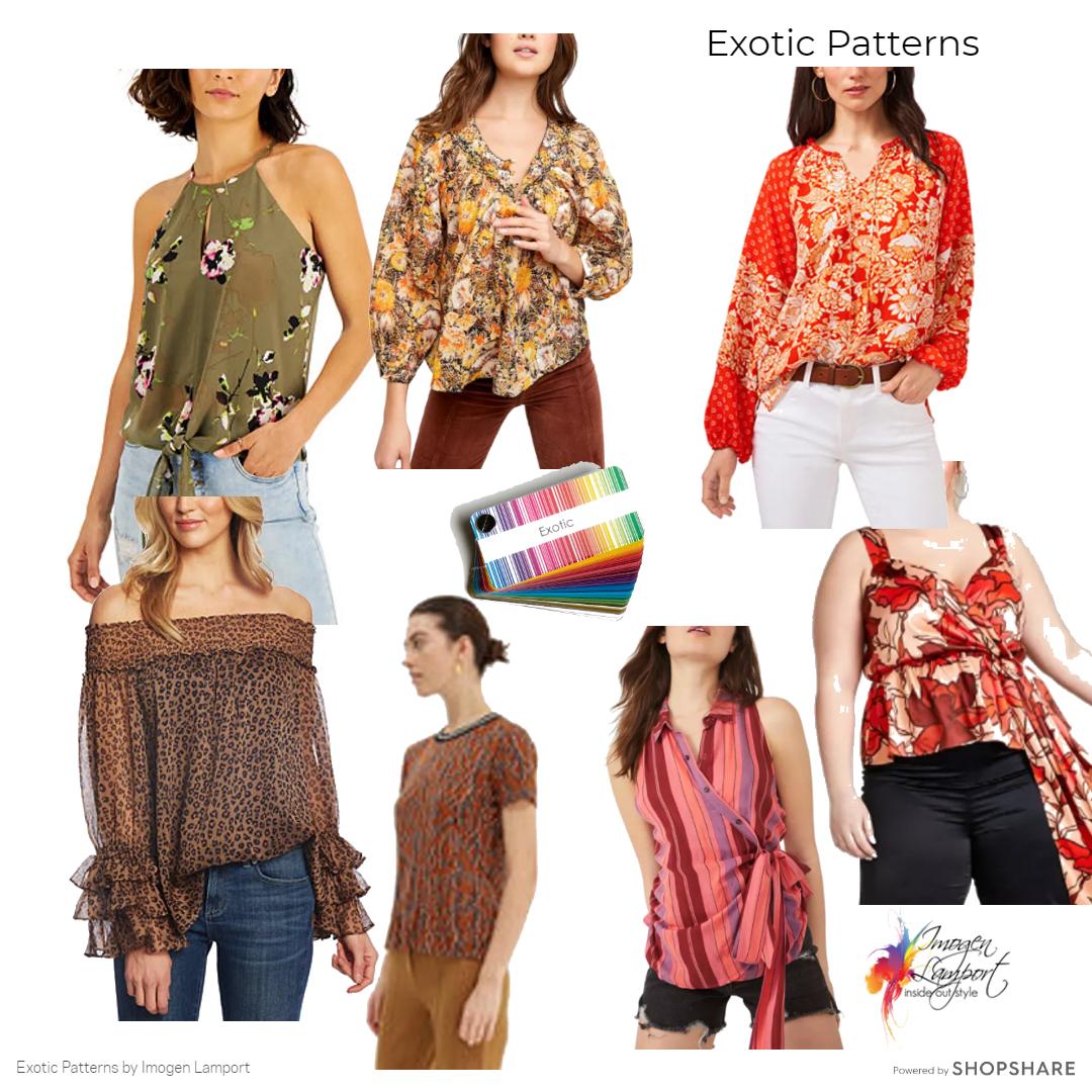 Exotic palette shopping picks