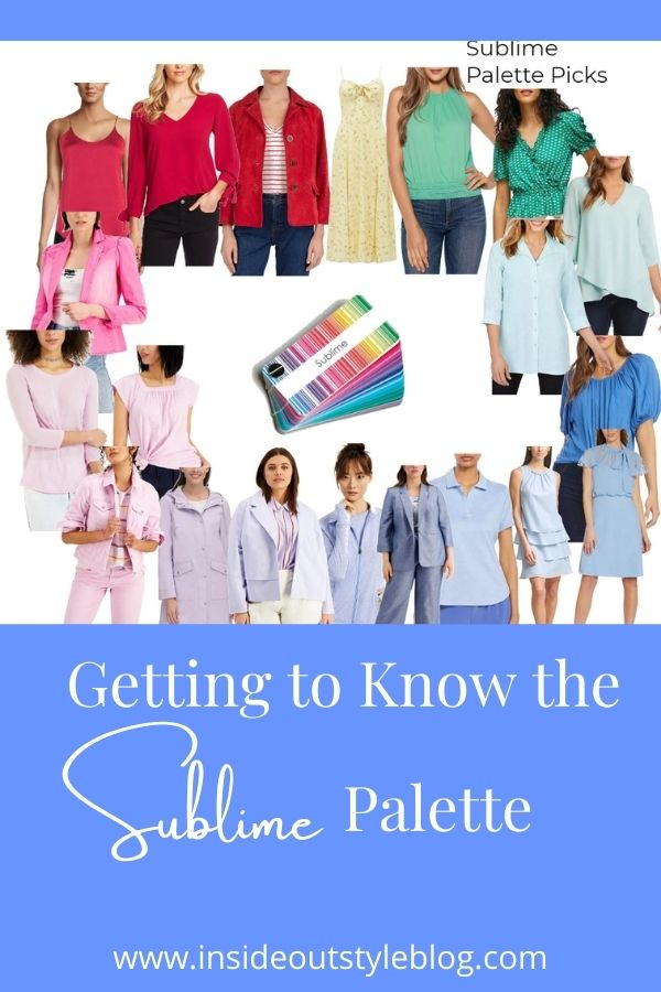 Getting to know the Sublime colour palette
