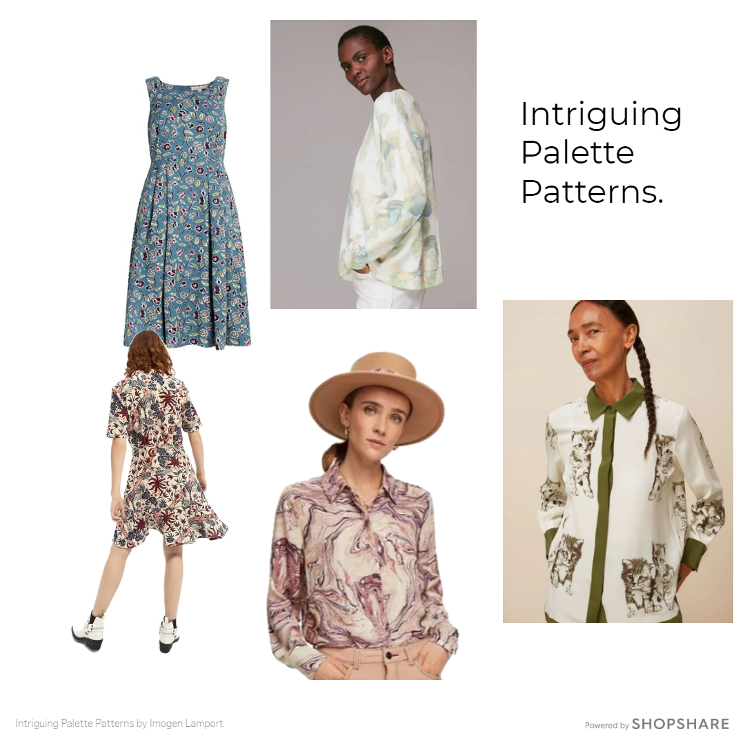 More Intriguing palette pattern options