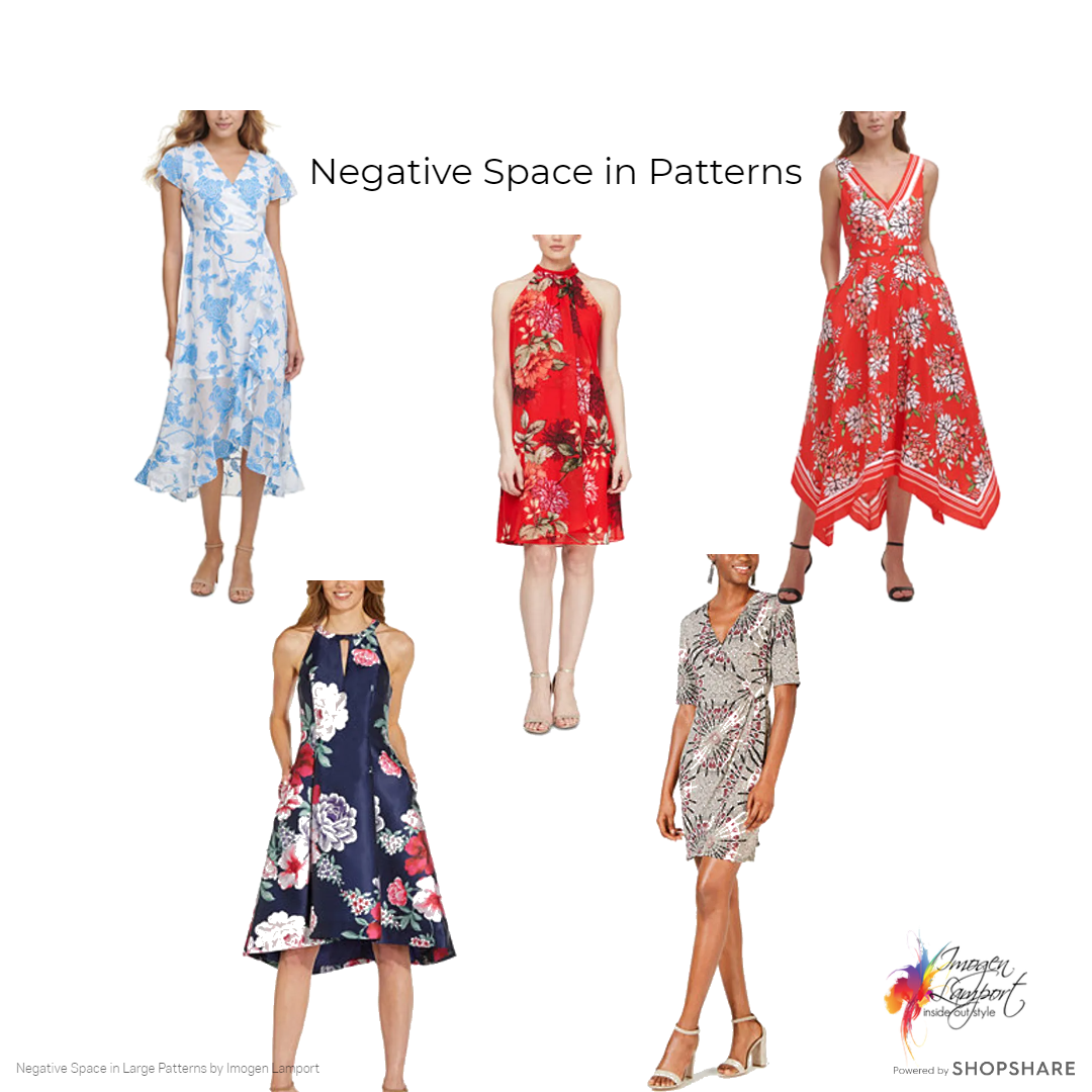 Learn more about negative space in patterns - patterns with large negative space
