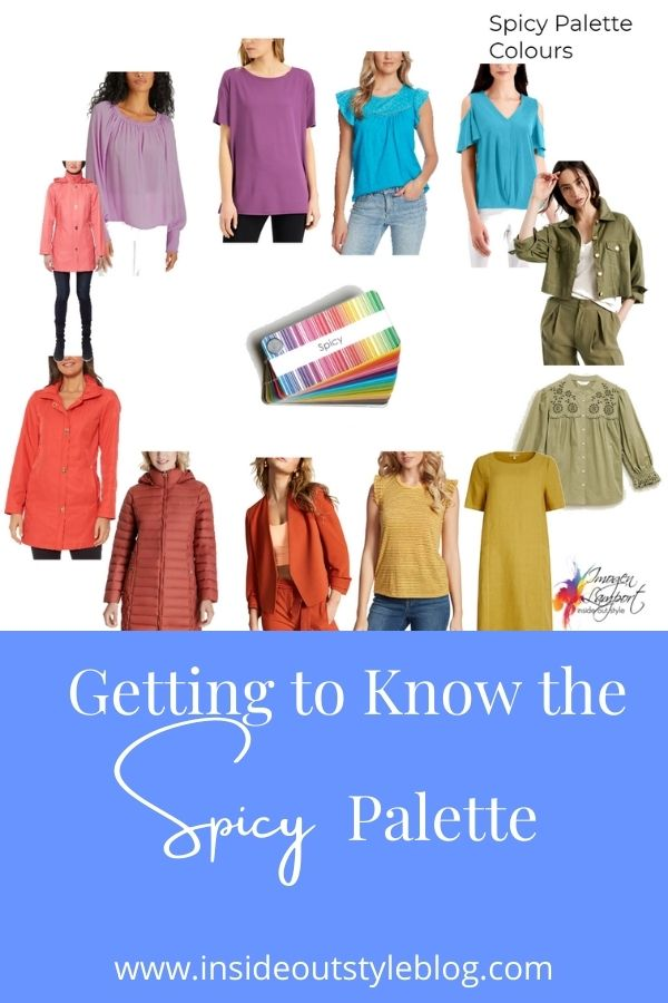 Getting to know the Spicy Palette Colours with shoppable picks
