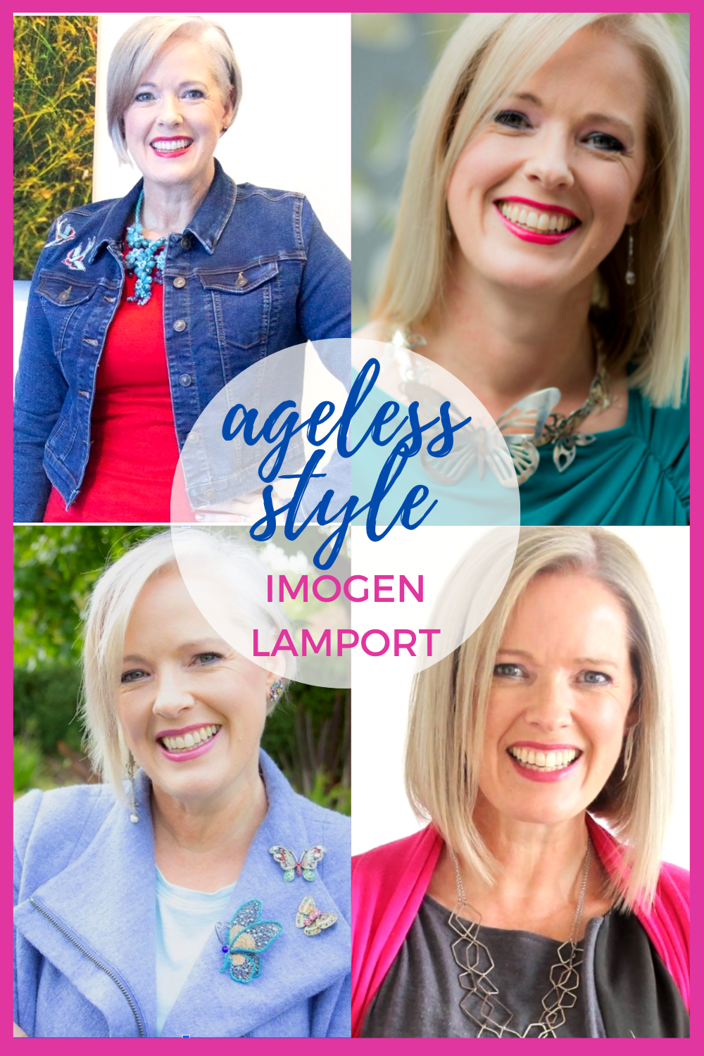 Interview with Imogen Lamport in Ageless Style