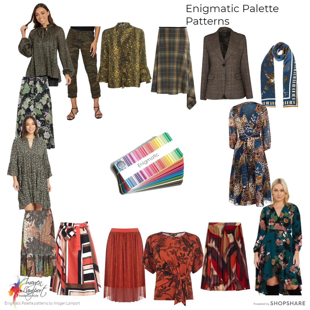 Patterns for the Enigmatic Palette from the Absolute Colour System