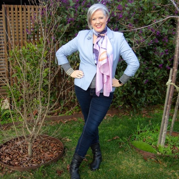 Scarves as part of your style aesthetic