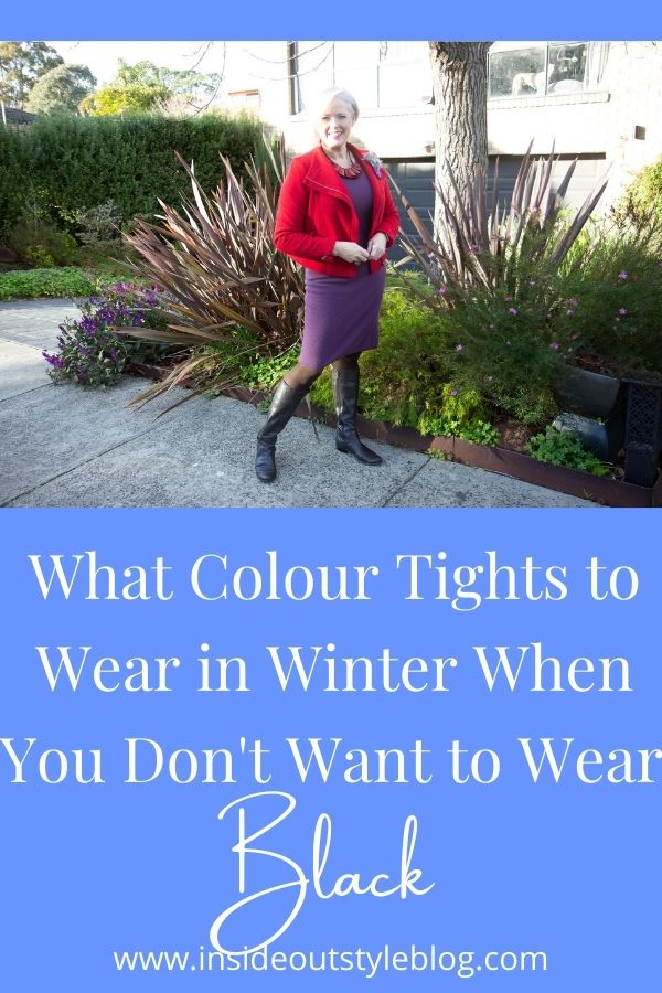 What Colour Tights to Wear in Winter When You Don't Want to Wear Black